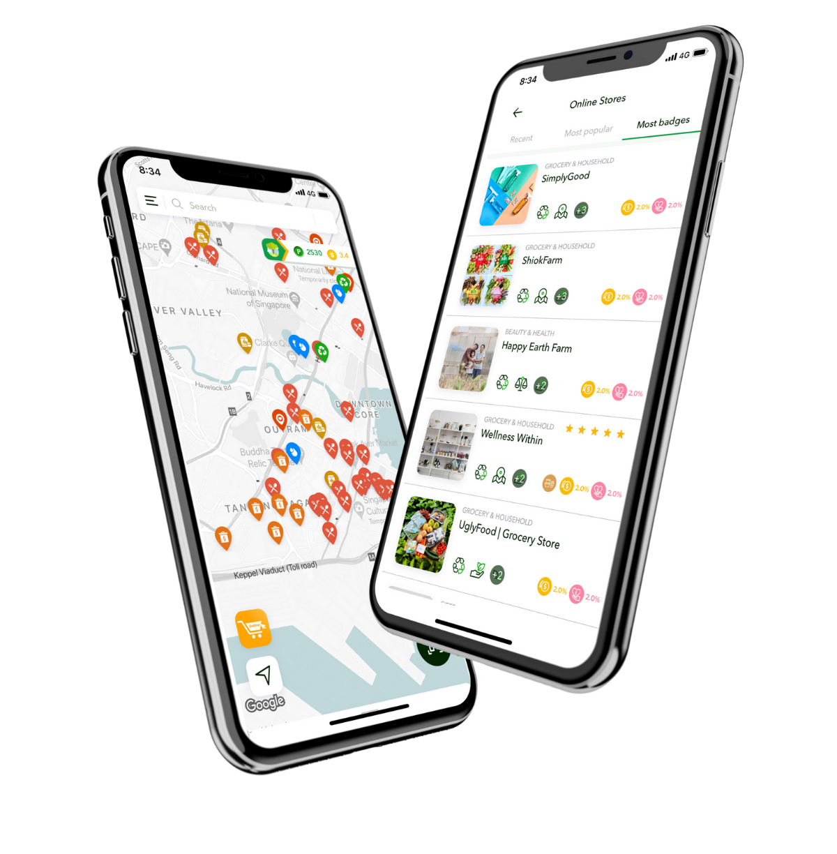 Your personal app for sustainable living in Singapore