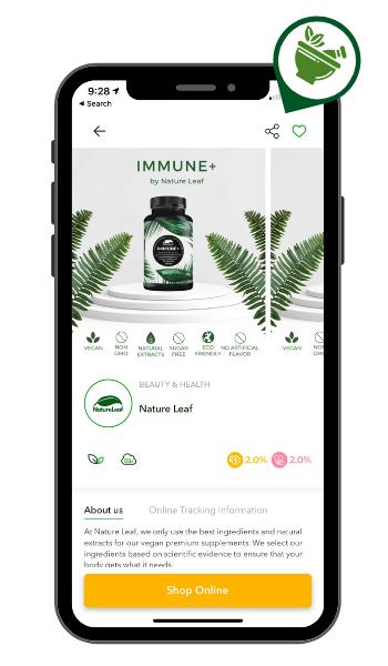 Eco-friendly brand Nature Leaf on susGain