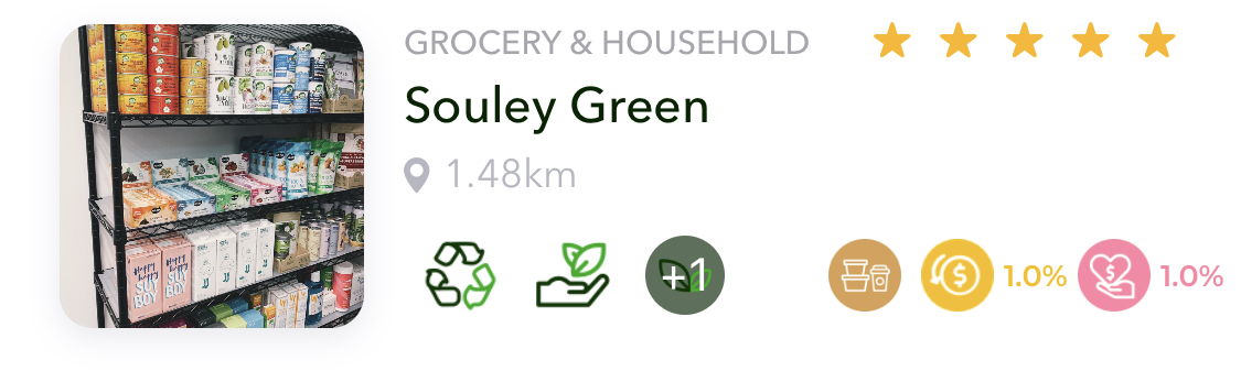 Sustainable Grocery & Household Store