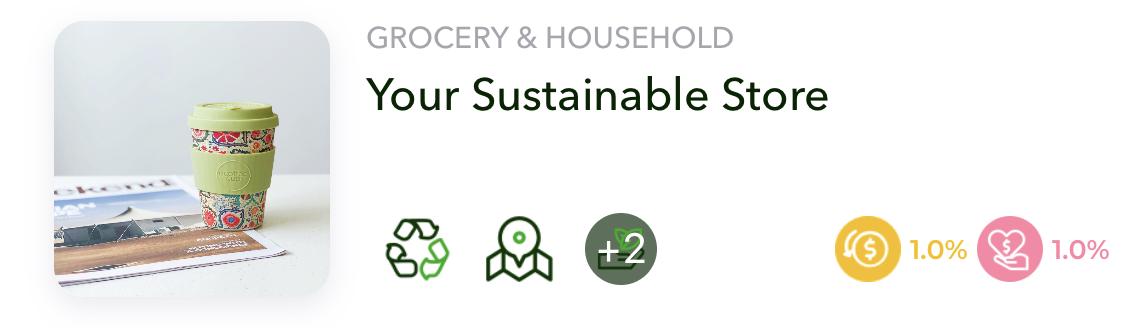 Sustainable Laundry Store