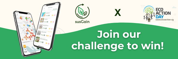 susGain X Eco Action Day - April Challenge